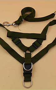 Collar Harness Portable Adjustable Solid Terylene