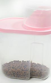 Katze Hund Schalen & Wasser Flaschen Haustiere Schüsseln & Füttern Wasserdicht Zufällige Farben
