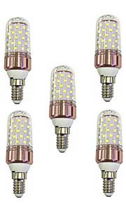 9W Żarówki LED kukurydza T 60 SMD 2835 600-680 lm Ciepła biel Biały V 5