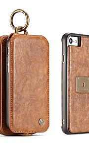 iphone 7 플러스 7 6s 플러스 6 플러스 6 6s caseme 복고풍 분할 가죽 멀티 슬롯 지갑 케이스 가죽 가방 커버