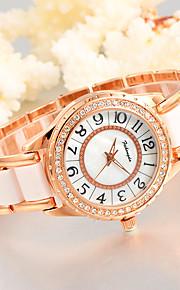 Feihongda Women's Fashion Wrist watch Unique Creative Watch Casual Quartz Alloy Plastic Band Charm Luxury Elegant Cool  Crystal Diamond Watches