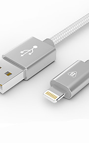Lightning Trenzado Carga rapida Cable Para iPhone iPad cm Nailon