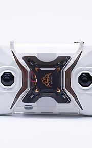 Drone 127 4 canaux 6 Axes - Eclairage LED Retour Automatique Vol Rotatif De 360 DegrésQuadri rotor RC Télécommande 1 Manuel 1 Câble USB