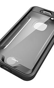 애플 아이폰 6s 플러스 케이스 커버 물 / 흙 / 충격 증거 전신 케이스 솔리드 컬러 하드 pc 6 plus 6s 6