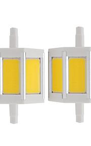 4W LED-spotpærer Tube 3 COB 360 lm Varm hvit Kjølig hvit V