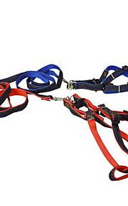 Husdjur levererar hund traction rep bröstband fabrik nylon denim pet traction belt bröstband