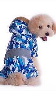 Hund Overall Hundekleidung Lässig/Alltäglich Polizei / Militär Gelb Blau