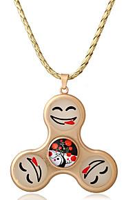Dame Halskædevedhæng Opal Cirkelformet Legering Unikt design Yndig Euro-Amerikansk Mode Smykker Til Fest Hverdag Afslappet