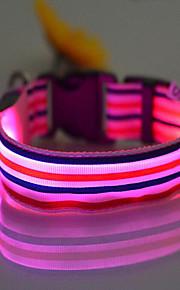 Kaulapannat Kannettava LED-valo Säädettävä Sateenkaari Nylon