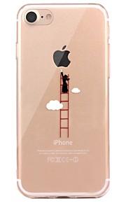 Caso per il iphone 7 6 che gioca con la copertura posteriore ultra-sottile della copertura posteriore della copertura posteriore del
