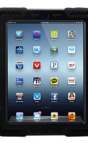 애플 ipad 4/3/2 standproof 전신 케이스와 shockproof 실리콘에 대 한 3d 만화 하드 pc
