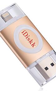 Idiskk u002 32g otg usb 2,0 lyn krypteret mfi certificeret flashdrev u disk til iphone ipad ipod