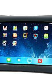 애플 ipad 4/3/2 케이스 커버에 대 한 충격 방지 스탠드 다시 커버 케이스 단색 부드러운 실리콘