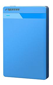 Seatay hds2120-bl caixa de disco rígido móvel sem parafusos usb2.0 sata azul