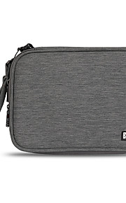 Bolsa para Adaptador de corriente Memoria USB Disco duro Batería Ratón Auriculares Color sólido Nilón Material