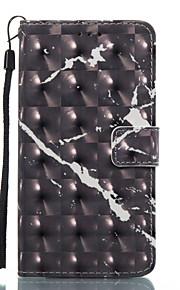 För lg k8 (2017) k10 (2017) fodral täcker svart mönster 3d målade kort stent plånbok telefonväska för lg k7 k8