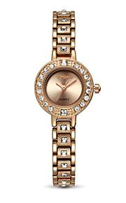Mulheres Relógio de Moda Automático - da corda automáticamente Lega Banda Prata Dourada