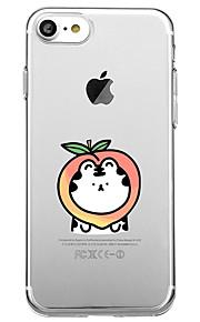 Per la copertura posteriore di caso di caso di copertura posteriore di caso di iphone 7 plus 7 copertura posteriore per iphone 6s plus 6s
