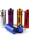 Boite / Etui a Medicaments de Voyage Portable pour Accessoires d\'Urgence de VoyageArgent Violet Rouge Bleu Dore
