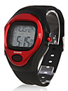 Unisex Calorie Counter Heart Rate Monitor Red Case Digital Wrist Watch