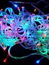 10m 6w 100-LED coloridos luz da corda decoracao festival lampada (110v)