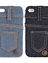 Jeans Cover Hard Case for iPhone 4 / 4S