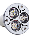 3W GU10 LED-spotlights MR16 3 Högeffekts-LED 300 lm Varmvit AC 85-265 V