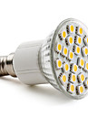 E14 4W 24 SMD 5050 150 LM Warm White PAR38 LED Spotlight AC 220-240 V