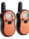 мини-8-канальный Walkie Talkie (диапазон 5 км, 2-пакет, оранжевый)