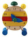 목재 만화 시계 장난감