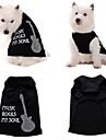 Music Rocks My Soul Cotton Vest for Dogs (XS-XL)