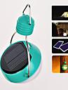Solar Powered White Light  4-LED Bulb Hanging Lanterns Lamp