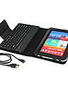 Estuche Con Teclado y Bluetooth 3.0 para el Samsung Galaxy Tab 7 Plus P6200 Negro