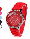 Women's Plastic Analog Quartz Wrist Watch (Assorted Colors)