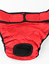Dog Pants Red / Black Dog Clothes Summer / Spring/Fall Solid Casual/Daily