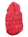 Cat / Dog Hoodie Pink Dog Clothes Winter Solid