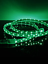Waterproof 3.5W/M 3528 SMD Green Light LED Strip Lamp (220V, Length Selectable)