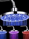 8 pollici a 12 LED rotonda soffione doccia a soffitto (colori assortiti)