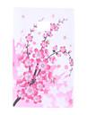Plum Blossom Pattern Soft Case for LG Optimus L3 E400