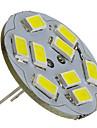 4W G4 LED Spotlight 9 SMD 5730 430 lm Natural White DC 12 V