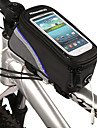 Bike Frame Bag /Phone Bag 4.2 Inch Bicycle Front Bag Touchable Mobile Phone Screen for Iphone 4/5/5S/5C or Same Size Smart Phone