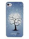 cas dur de modele de fleur de neige pour l\'iPhone 4/4S