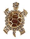 tortue en forme de diamant la broche de femmes