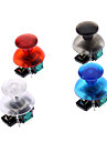 Substituicao 3D vibratorio Rocker Joystick Cap Shell Mushroom Caps para PS3 Wireless Controller (verde Chip)