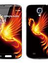Monster patron frontal y traseras del protector Pegatinas para Samsung i9500 Galaxy S4