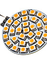 G4 2W 30x3528SMD 120-150LM 3000-3500K Warm White Light LED Spot Bulb (12V)