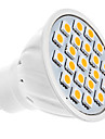 1.5w gu10 led spot mr16 20 smd 5050 190 lm chaud blanc ac 220-240 v