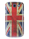Vintage UK Flag Pattern Hard Case with HD Screen Protector and Stylus for Samsung Galaxy S3 I9300
