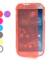 Transparent Soft TPU Full Body Case for Samsung Galaxy S4 I9500 (Assorted Colors)
