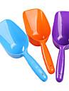 Pala de plastico para alimentos para mascotas (color al azar)